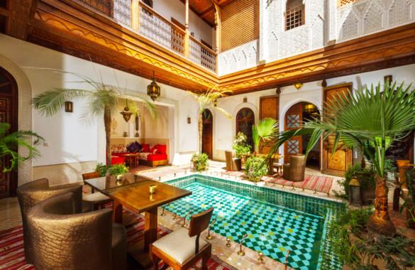 Superbe Riad rénové Maison d'Hôtes de 8 chambres idéalement situé