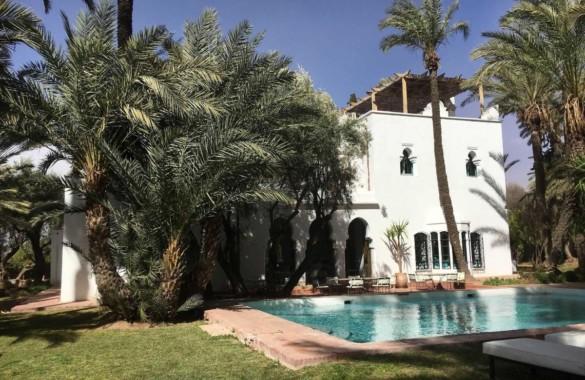 Exceptionnelle propriété à vendre en Palmeraie de Marrakech