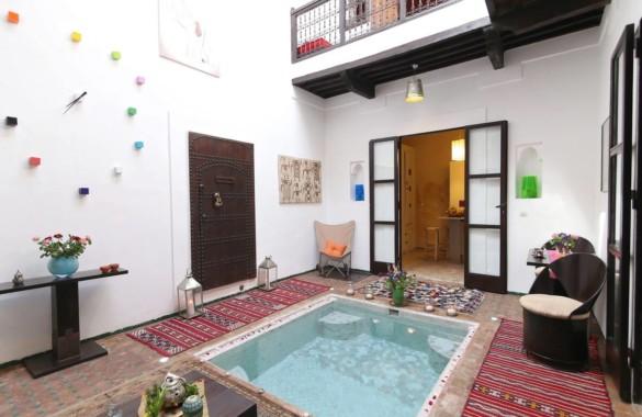 Charmant Riad Rénové idéalement situé à Marrakech