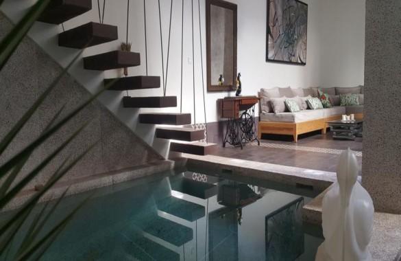 Beau Riad contemporain de 5 chambres avec superbe emplacement