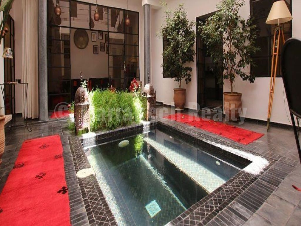 Riad rénové contemporain de 6 chambres idéalement situé