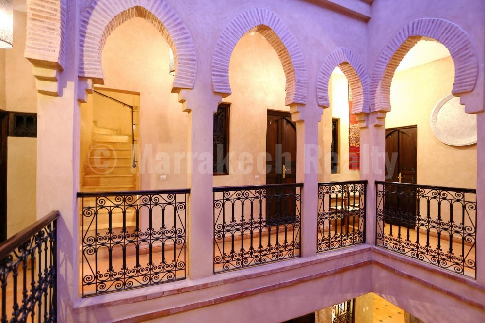 Riad Maison d'Hôtes traditionnel de 7 chambres à 2 pas de Jemaa el Fna