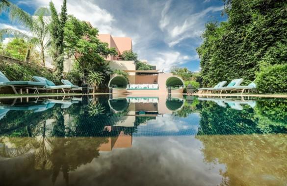 Luxueuse villa de 3 chambres à louer  en longue durée dans un domaine exclusif