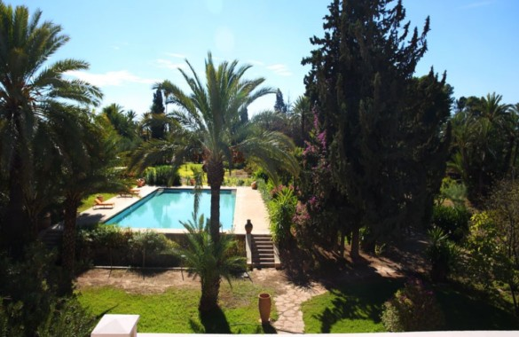 Unique property for rent in the Palmeraie of Marrakech