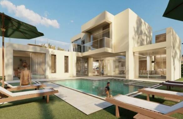 Belles villas neuves à proximité de Marrakech