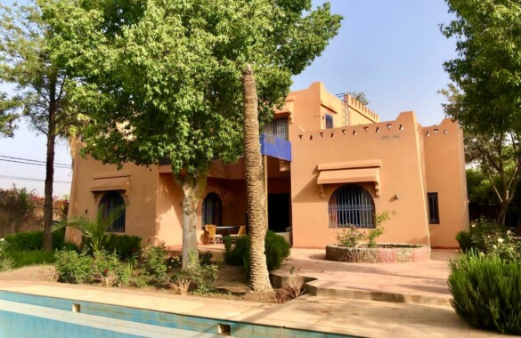 Attractive 4 bedroom villa for sale 10 km from Marrakech