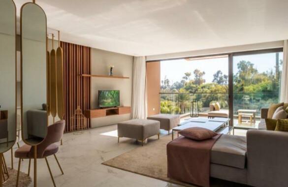 Superbe appartement neuf avec terrasse au coeur de Marrakech
