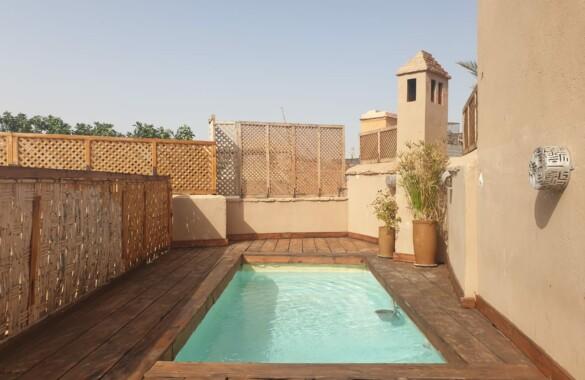 Riad Maison d'Hôtes de 10 chambres avec piscine en terrasse