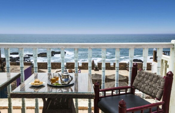 Bohemian 7 bedroom Boutique-Riad with awesome seaviews
